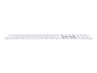 Apple Magic Keyboard with Numeric Keypad - Keyboard - Bluetooth - US - silver - for 10.2-inch iPad; 10.5-inch iPad Air; iPad mini 5; iPhone 11, XR, XS, XS Max MQ052LB/A