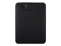 WD Elements Portable WDBU6Y0020BBK - Hard drive - 2 TB - external (portable) - USB 3.0 WDBU6Y0020BBK-WESN