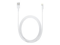 Apple - Lightning cable - Lightning (M) to USB (M) - 2 m - for Apple iPad/iPhone/iPod (Lightning) MD819ZM/A