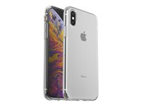 OtterBox Clearly Protected Skin - Back cover for mobile phone - thermoplastic polyurethane (TPU) - clear - for Apple iPhone X, Xs 77-59678