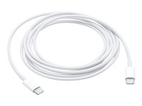 Apple USB-C Charge Cable - USB cable - USB-C (M) to USB-C (M) - 2 m - for 11-inch iPad Pro; MacBook; MacBook Pro (Late 2016, Mid 2017) MLL82ZM/A